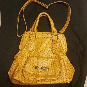 Mustard yellow shoulder bag